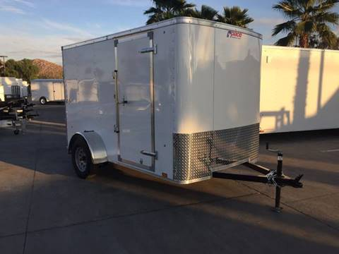 2017 10' ENCLOSED CARGO TRAILER PACE AMERICAN