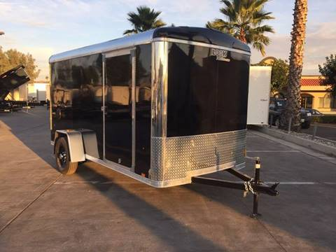 2017 12' ENCLOSED CARGO TRAILER LOOK