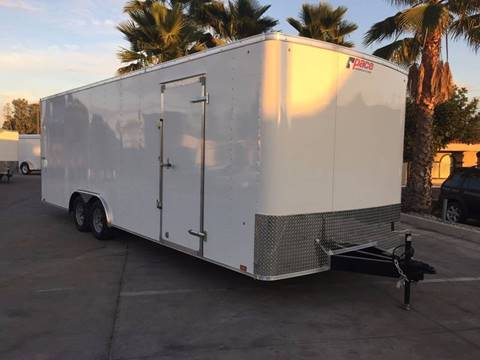 2017 24' ENCLOSED CARGO TRAILER PACE AMERICAN