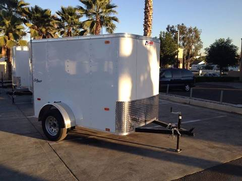 2017 8' ENCLOSED CARGO TRAILER PACE AMERICAN