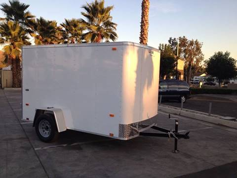 2017 10' ENCLOSED CARGO TRAILER LOOK