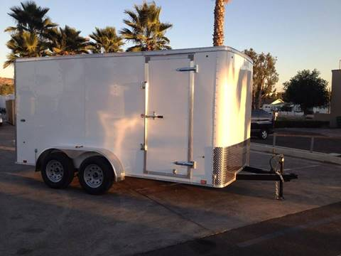2017 14' ENCLOSED CARGO TRAILER LOOK