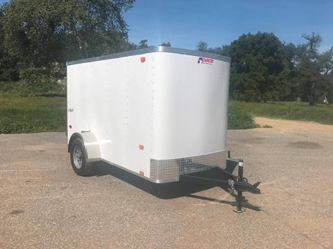 2018 10' ENCLOSED CARGO TRAILER PACE AMERICAN