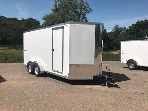 2018 16' ENCLOSED CARGO TRAILER PACE AMERICAN