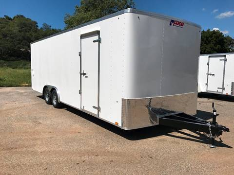 2018 24' ENCLOSED CARGO TRAILER PACE AMERICAN