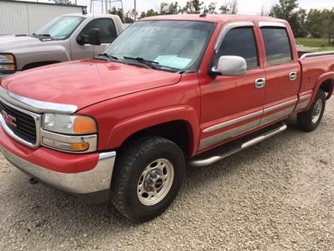 2002 GMC Sierra 1500HD for sale in Palco, KS