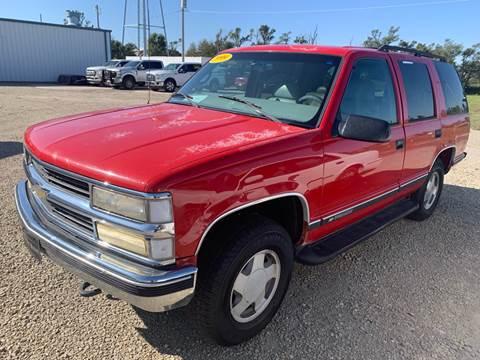 1999 Chevrolet Tahoe for sale in Palco, KS