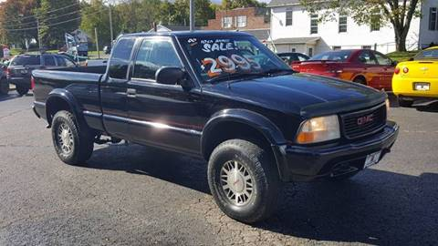 2002 GMC Sonoma for sale in Mogadore, OH