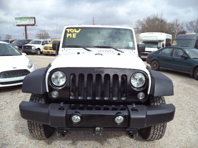 2016 Jeep Wrangler for sale at PICAYUNE AUTO SALES in Picayune MS