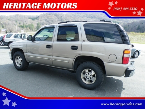 2000 Chevrolet Tahoe for sale in Banner Elk, NC