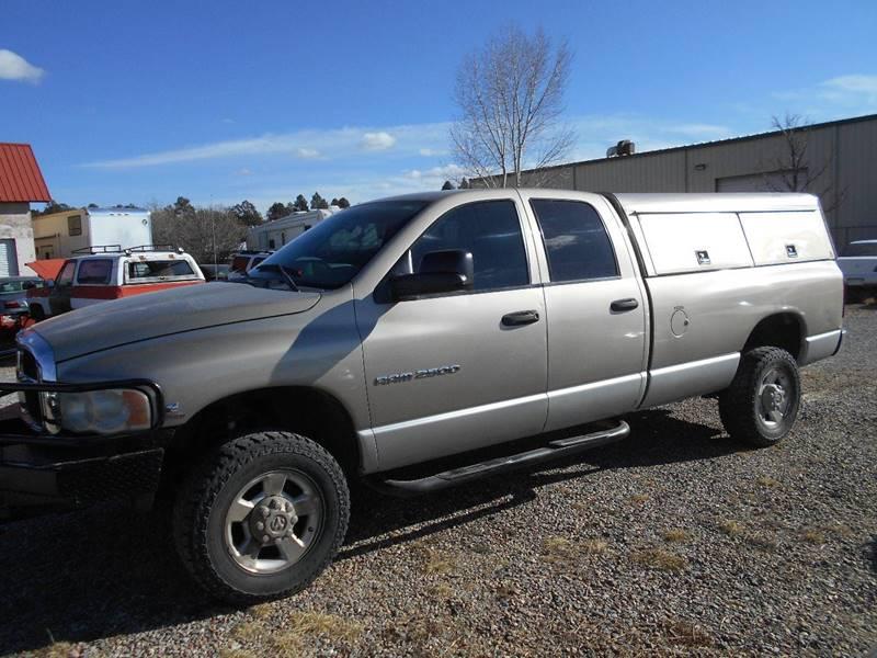 2004 dodge ram pickup 2500 4dr quad cab laramie 4wd lb in for Sal s motor corral durango co