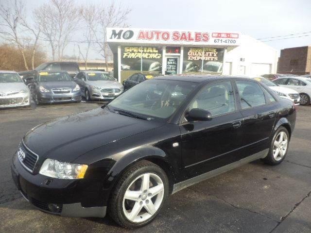Audi A AWD T Quattro Dr Sedan In Fairfield OH Mo Auto Sales - Audi of fairfield