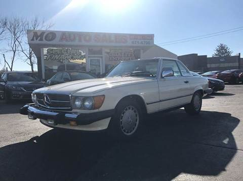 1987 Mercedes-Benz 560-Class for sale at Mo Auto Sales in Fairfield OH