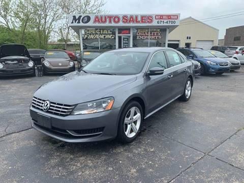 2013 Volkswagen Passat for sale in Fairfield, OH