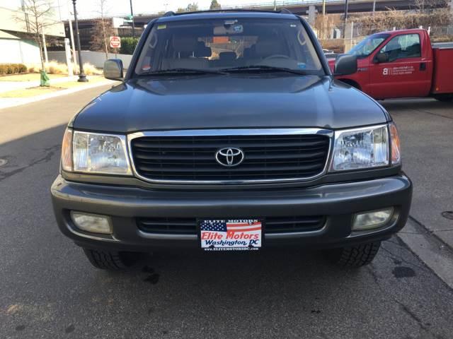 2000 Toyota Land Cruiser AWD 4dr SUV In Washington DC - Elite Motors
