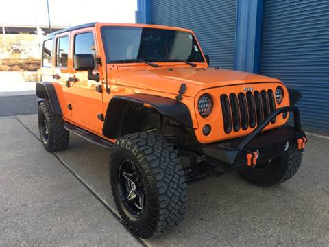 2012 Jeep Wrangler Unlimited for sale at Elite Motors in Washington DC