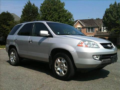 2002 Acura MDX for sale at Elite Motors in Washington DC