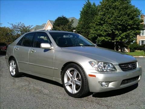 2002 Lexus IS 300 for sale at Elite Motors in Washington DC