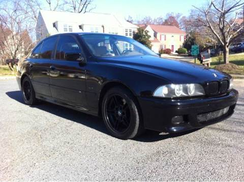 2001 BMW 5 Series for sale at Elite Motors in Washington DC