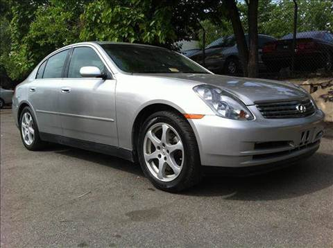 2003 Infiniti G35 for sale at Elite Motors in Washington DC