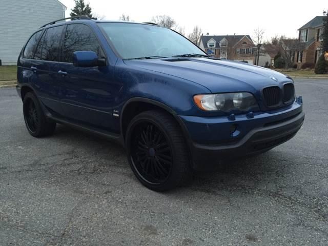 2002 BMW X5 for sale at Elite Motors in Washington DC