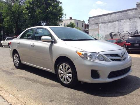 2012 Toyota Corolla for sale at Elite Motors in Washington DC