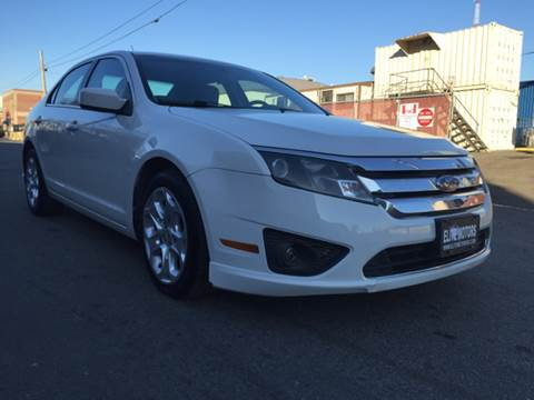 2010 Ford Fusion for sale at Elite Motors in Washington DC