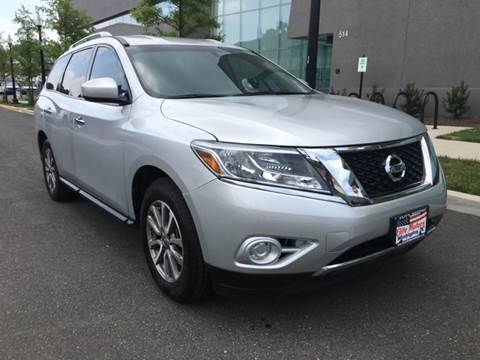 2014 Nissan Pathfinder for sale at Elite Motors in Washington DC
