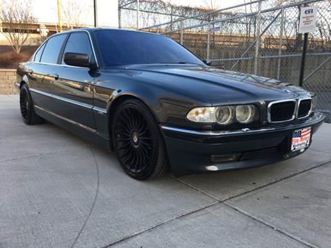 2001 BMW 7 Series for sale at Elite Motors in Washington DC