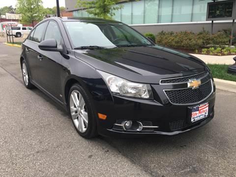 2012 Chevrolet Cruze for sale at Elite Motors in Washington DC