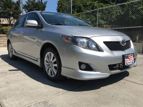 2009 Toyota Corolla for sale at Elite Motors in Washington DC