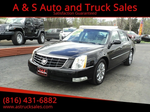 2011 Cadillac DTS for sale in Platte City, MO