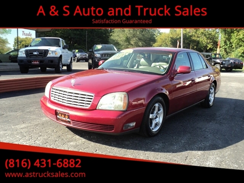 2003 Cadillac DeVille for sale in Platte City, MO
