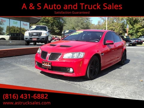 2009 Pontiac G8 for sale in Platte City, MO