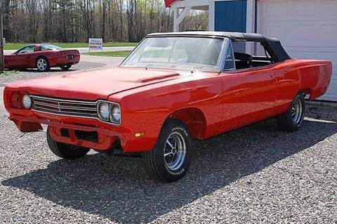 1969 Plymouth Roadrunner for sale at AB Classics in Malone NY