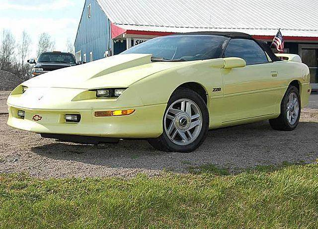 1995 Chevrolet Camaro for sale at AB Classics in Malone NY