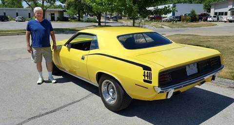 1970 Plymouth Barracuda for sale at AB Classics in Malone NY