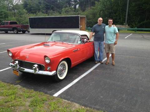 1955 Ford Thunderbird for sale at AB Classics in Malone NY