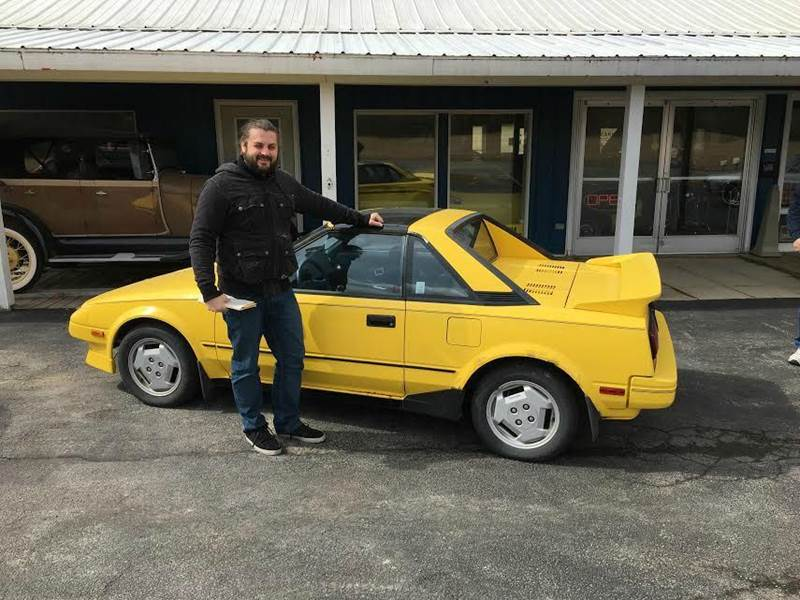 1987 Toyota MR2 for sale at AB Classics in Malone NY
