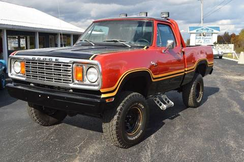 1978 Dodge SOLD POWER WAGON for sale at AB Classics in Malone NY