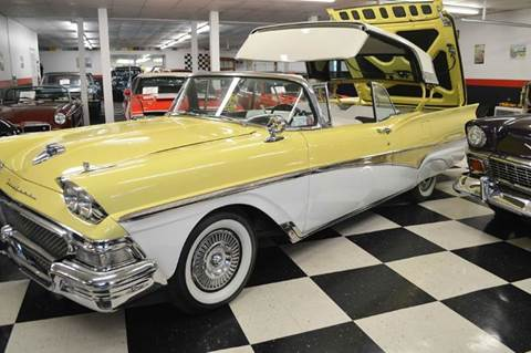 1958 Ford Fairlane 500 SOLD for sale at AB Classics in Malone NY