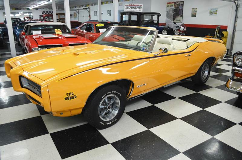 1969 Pontiac GTO for sale at AB Classics in Malone NY
