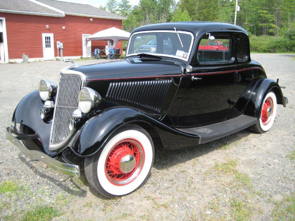 1934 ford 5 window coupe deluxe flathead v8