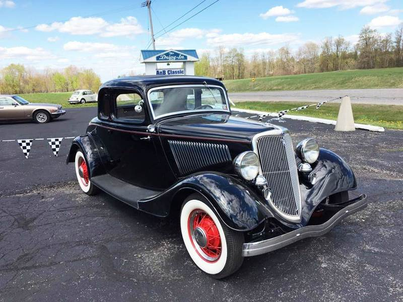 1934 Ford 5 Window Coupe DELUXE FLATHEAD V8 In Malone NY ...