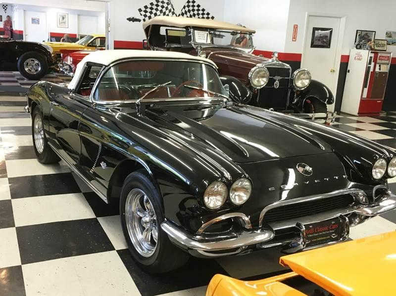 1962 Chevrolet Corvette for sale at AB Classics in Malone NY