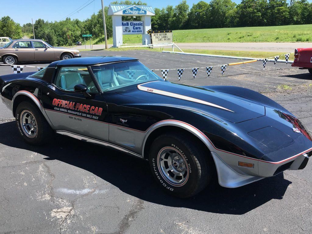 1978 chevrolet corvette l82 indy pace car in malone ny. Black Bedroom Furniture Sets. Home Design Ideas