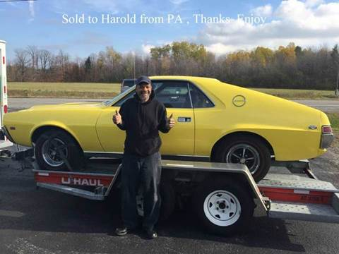 1968 AMC AMX for sale at AB Classics in Malone NY