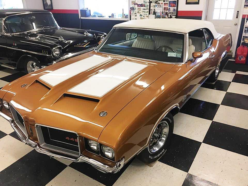 1972 Oldsmobile Cutlass Supreme for sale at AB Classics in Malone NY