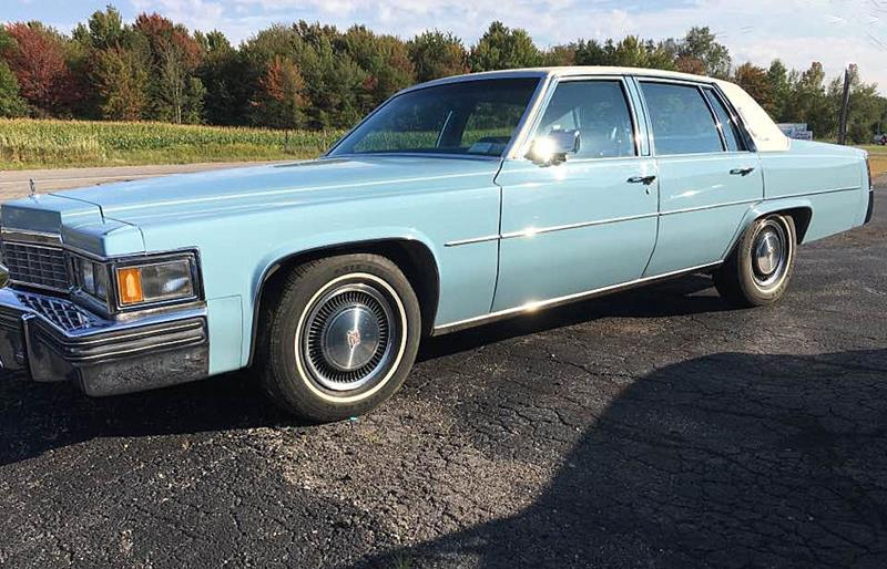 1977 Cadillac DeVille for sale at AB Classics in Malone NY