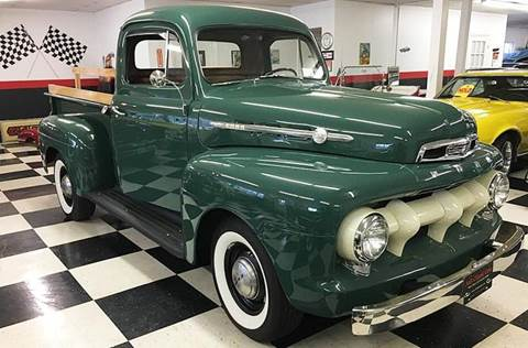 1952 Ford SOLD  F-100 for sale at AB Classics in Malone NY